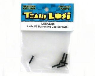 """Losi 4 40x1 2"""" Button Head Screws 10 XXXCR XXXT CR"""