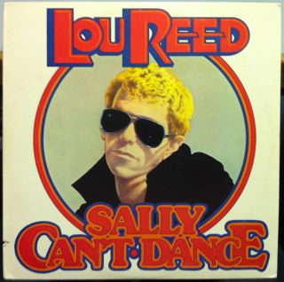 Lou Reed Sally CanT Dance LP Mint CPL1 0611 Vinyl 1974 Record