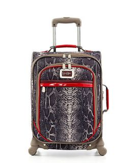 Jessica Simpson Suitcase, 20 Snake Rolling Carry On Expandable