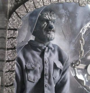 Sideshow Silver Screen Lon Chaney Wolf Man 12 Figure 2002 Universal