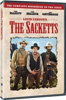 Louis LAmour The Sacketts New SEALED 4 DVD Set Sam Elliott