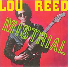 Lou Reed Mistrial LP Very Near Mint in Shrink Wrap Highly Recordable