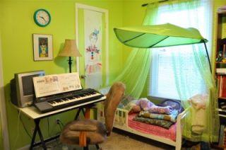 New IKEA Lova Green Leaf Childrens Bed Canopy Tent Garden Them Decor