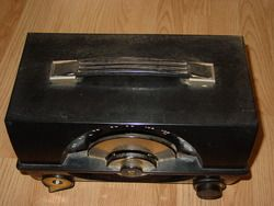 Vintage Antique Zenith Long Distance Am Radio Chicago s 18656 for