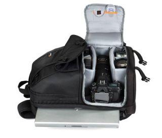 Lowepro Fastpack 250 ◀ Camera Laptop Backpack Black