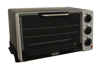 New deLonghi EO 2058 1300W 6 Slice Toaster Convection Oven w Broiler
