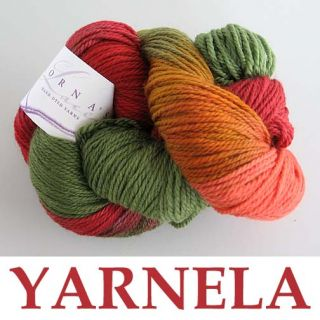 Lornas Laces Shepherd Sport Yarn Yarnela Maple Leaves