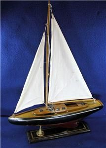 Vintage Sailboat Model from The Movie Jaws
