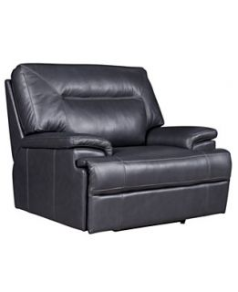 Nina Leather Power Recliner Chair, 45W x 41D x 39.5H