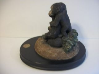1991 Earth Home Sculpture Figurine Lowland Gorilla Endangered Species