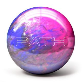 Pyramid Path Pink Purple Silver Bowling Balls 10lb
