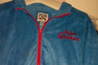 St Louis Cardinals Cooperstown Jacket XL STL Baseball Baby Blue
