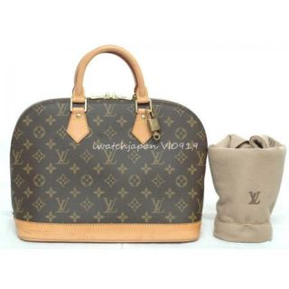 Authentic Louis Vuitton Alma Most Excellent w/Lock&key, LV Sleeper