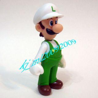 New Super Mario Figure 12cm Fire Luigi