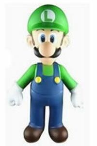 Lego Custom Super Mario Game Minifig Luigi 134B
