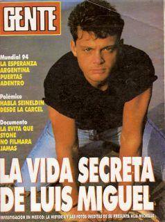 Eva Peron Luis Miguel RARE Magazine 1994