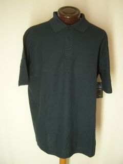 E2 Sport Balance Cool N Dry Lou Holtz Mens s s Polo Golf Shirt $30