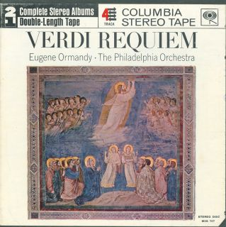 Reel to Reel Tape Verdi Requiem Eugene Ormandy 7½ Double Play
