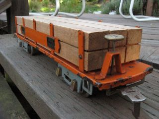 American Flyer Lumber Car Pre War Standard Gauge 4023