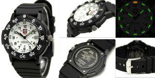 Brand New Luminox 3007 Original Navy Seal Dive Mens Watch with