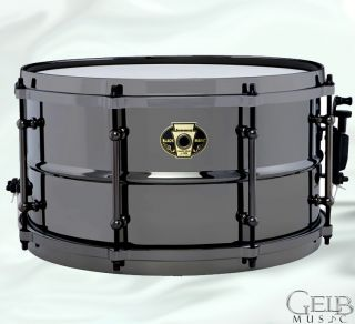 Ludwig LW0814 Black Magic 8x14 Snare Drum