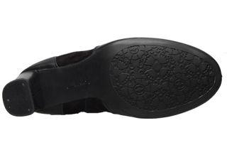 Clarks Indigo Womens Boots Loyal Pearl Black Leather 63150 Sz 7 5 M
