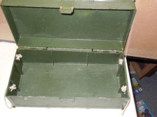 1997 G.I.Joe Hasrbo 12 Green Official Military Storage Locker Box Kit