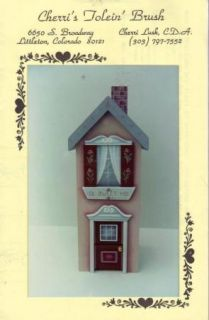 Sweet Low M D House by Cherri Lusk Decorative Painting Pattern Packet