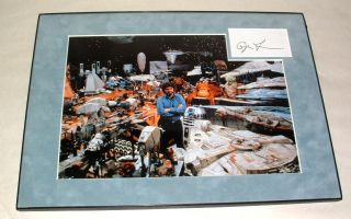 Star Wars George Lucas Professionally Framed