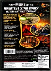 Sar Wars Balefron II 2 PC CD ROM w Box LucasArs