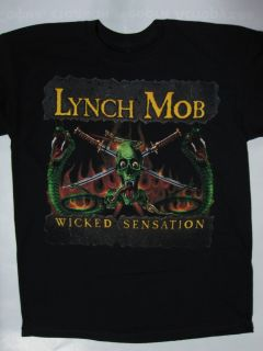 Lynch Mob Wicked Sensation T Shirt Dokken Ratt Van Halen