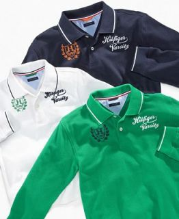 Tommy Hilfiger Kids Shirt, Little Boys Long Sleeved Polo