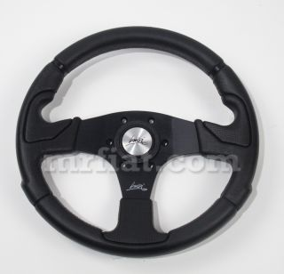 Kobra Black Spokes Luisi Steering Wheel New