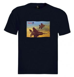 15 T Shirt Eagle Aircraft Air Force Israel Army IDF