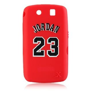 LUXMO BlackBerry Storm 9530 9500 Red Michael Jordan Chicago Bulls #23