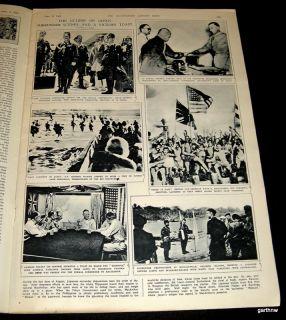 General Douglas MacArthur 1945 Surrender Pictorial