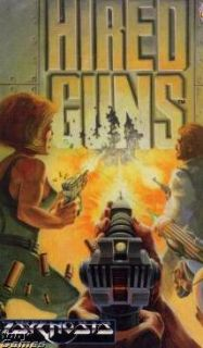 Hired Guns Manual PC Control Mercenary Team Game Box