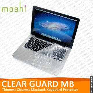 Moshi Clearguard MB MacBook Pro Air Keyboard Protector Soft Skin Cover