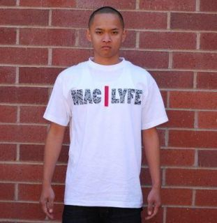 The Mac Lyfe T Shirt Logo White Cement Black Red Jordan III 3 Elephant
