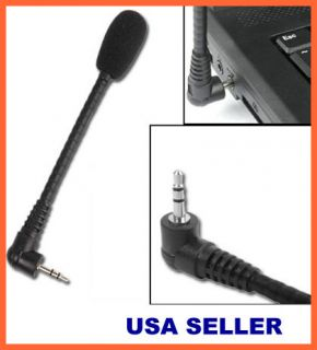 Mini Microphone Mic for PC Apple Mac Laptop MSN Skype