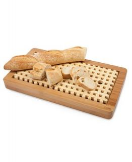 Core Bamboo Bread Cutting Board, Slotted
