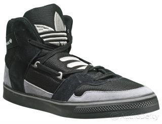 New Adidas Originals Hardland Mens Hi Top Skate Shoes 13 Black