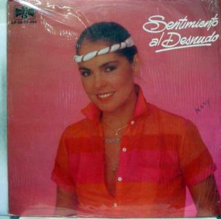 LUPITA DALESSIO sentimiento al desnudo LP VG+ LP 20 TV 054 Vinyl 1983