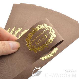 20SHEET Luxury Gold Label for Handmade Soap Handmade Soap Label