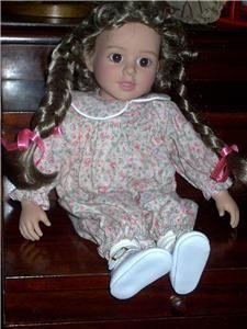 Beautiful Madeleine My Twinn Cuddly Sisters Doll VGC