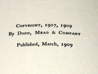The Blue Bird by Maurice Maeterlinck 1909 1st