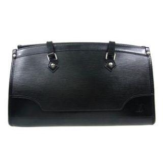 Authentic Louis Vuitton Madeleine Shoulder Hand Bag Black Epi Leather