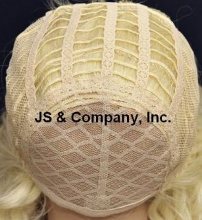description this wig is made with human hair 50 % blended with new