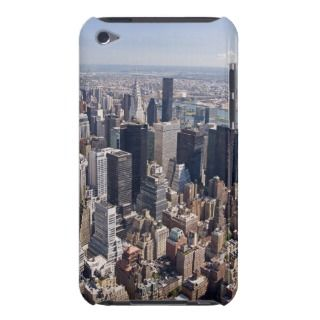 View of Central Manhattan the Empire State Bu iPod Touch Cover