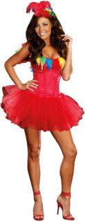 Sexy Womens Parrot Princess Costume Halloween New